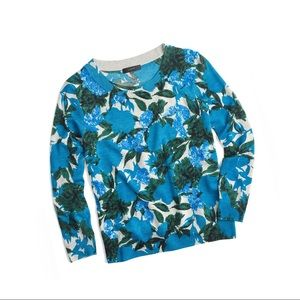J. Crew Sweaters - JCrew Floral Sequins Sweater
